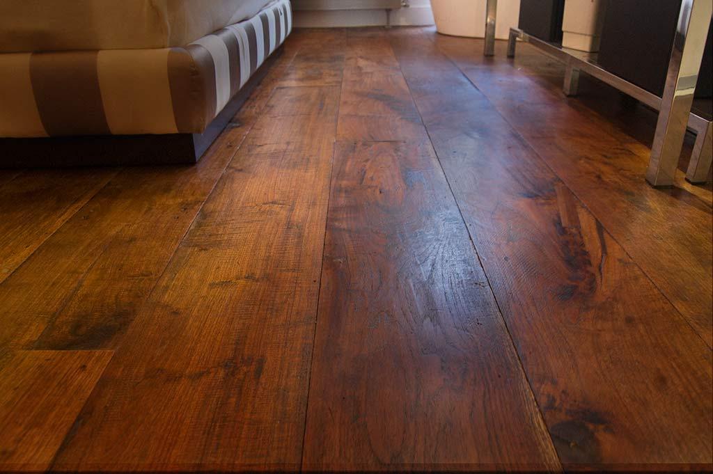srestauracion suelo de madera recuperada